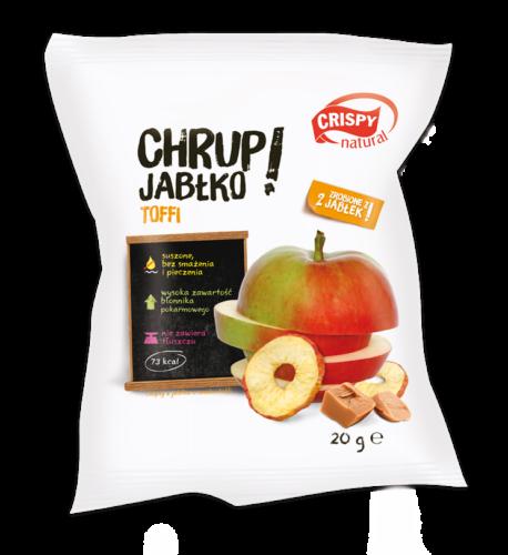 CRISPY Karamellizált ropogós alma chips 15 g
