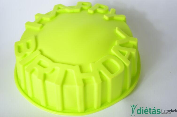 Szilikon születésnapi sütőforma 20 cm