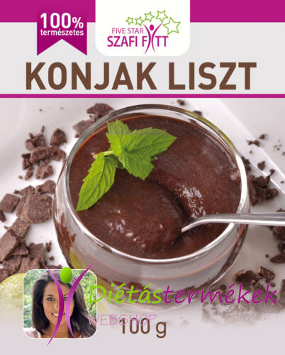 Szafi Fitt Konjak liszt (Konjac Liszt) gluténmentes 100g