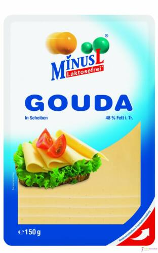 Minus L laktózmentes gouda sajt 150g