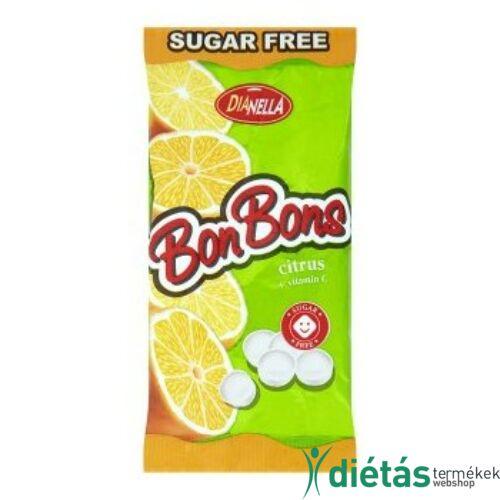 Dianella Bonbons Citrus cukormentes cukorkák 40g