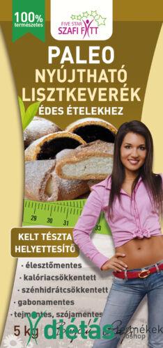 Szafi Fitt Nyújtható Édes lisztkeverék ( paleo és vegán) 5kg