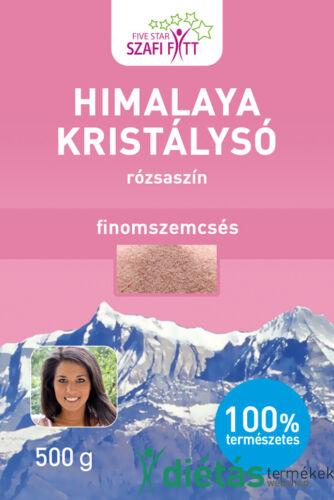 Szafi Fitt Himalaya (rózsaszín) kristálysó finomszemcsés 500g