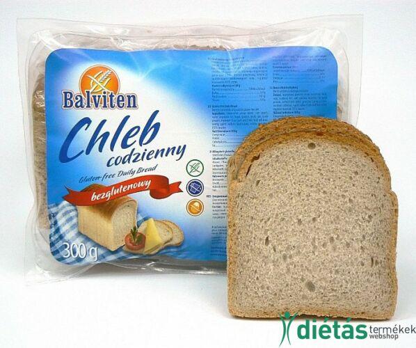 Balviten napi kenyér (gluténmentes, tejmentes, tojásmentes) 300g