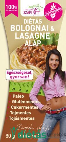 Szafi Fitt bolognai és lasagne alap (gluténmentes, paleo) 80g