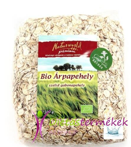 Naturgold Bio árpapehely 500g